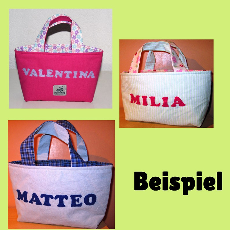 Easter Bag Easter basket Gift little bunny Easter Nest