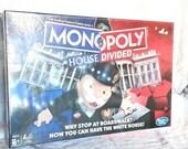 Hasbro Monopoly House Divided Board Game Democrat vs Republic Biden Trump 2020