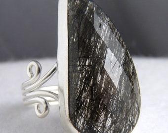 Cast Jali SILVERSARI Earrings Solid 925 Sterling Silver Rutile Quartz YES1229