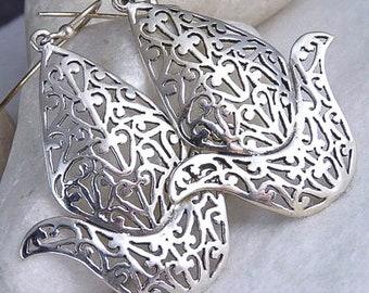 Ornate 'Jali LOTUS Flower' Earrings YES1054