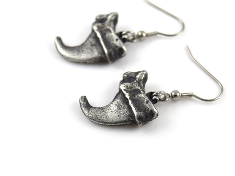 Lynx Claw Earrings on Stainless Steel Hooks