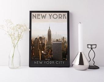 New York City - Print - Digital Art