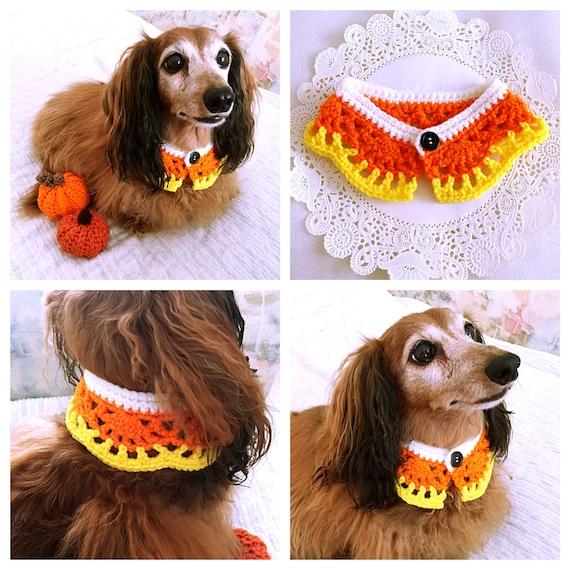 Bufanda del perro Collar de perro maíz de caramelo de | Etsy