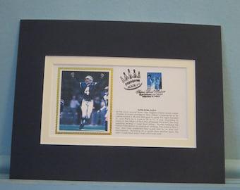2e5af8821 Tom Brady and the New England Patriots win Super Bowl XXXIII on an Adam  Vinatieri field goal   Commemorative Cover