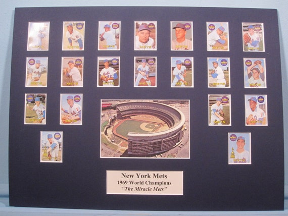 Honoring the New York Mets - 1969 World Series Champions led by Hall of  Famer Tom Seaver