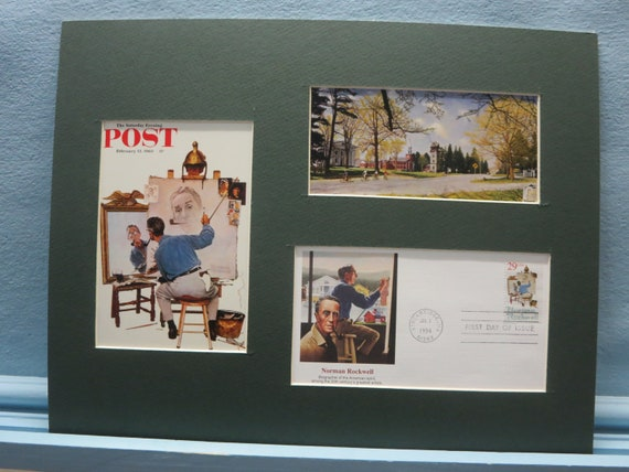 Norman Rockwell Saturday Evening Post Christmas Covers 4 11x14inch Posters Set 2