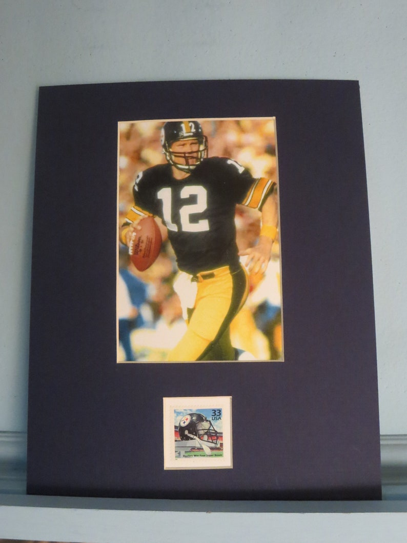 085c752c031 Terry Bradshaw and the Pittsburgh Steelers win Four Super   Etsy