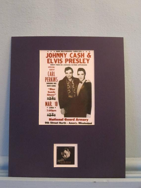 Elvis Presley Stamp Poster In A3 A4 Elvis Poster