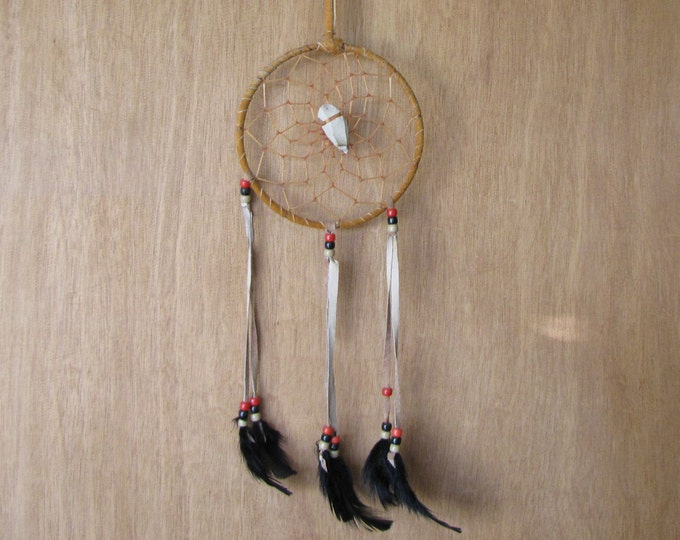 Vintage Dream Catcher Rawhide and Arrow Head