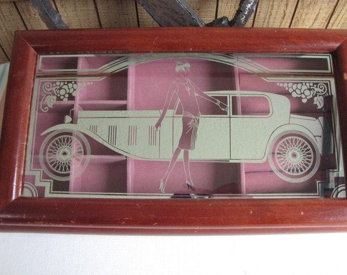 Art Deco Jewelry Box Vintage Boxes and Storage Roaring 20s Design