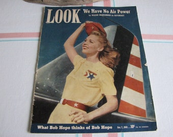 Look Magazine October 7, 1941 Vintage Magazines and Advertising