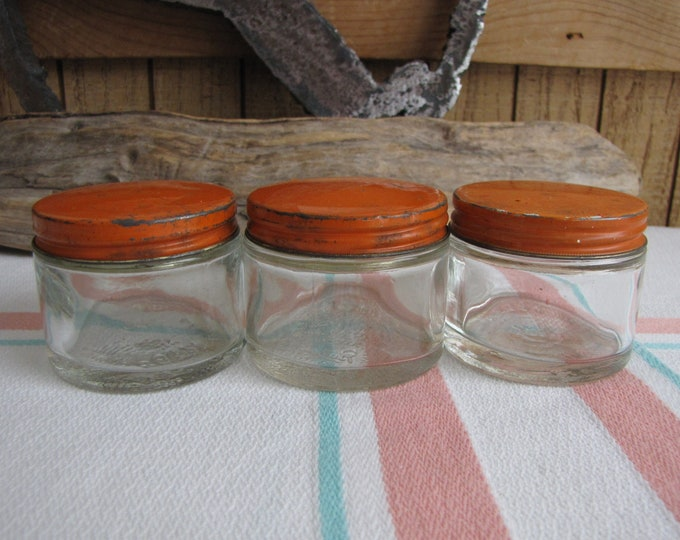 Ball Pharmacy Jars Vintage Jars and Bottles Set of 3 1900-1910