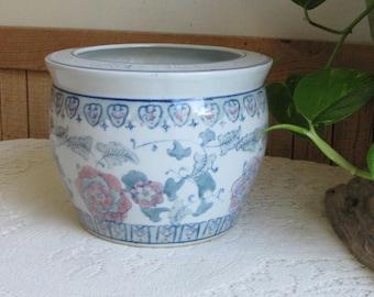 Asian Planter Vintage Planters Chinoiserie Plants and Succulents