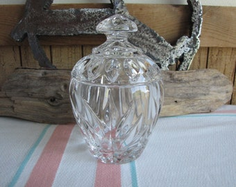 Gorham Crystal Star Blossom Sugar Bowl Vintage Dinnerware and Replacements