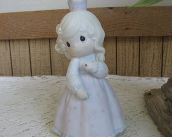 Precious Moments Pretty As a Princess Figurine Sailboat 1995 Symbol Retired