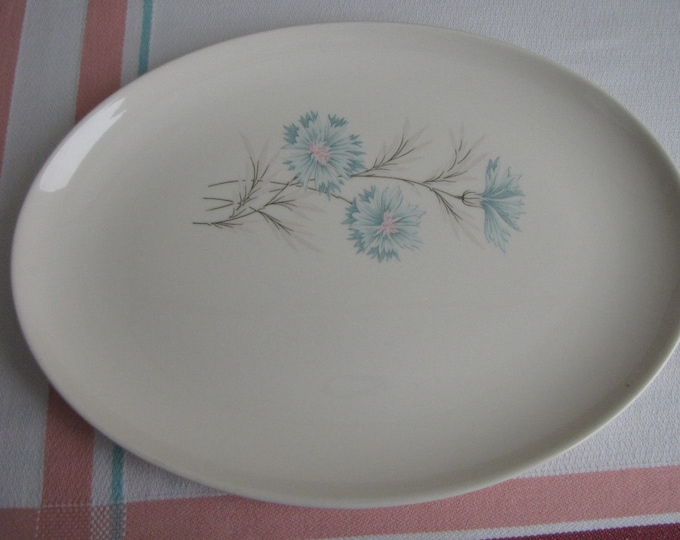 Blue Boutonniere platter Taylor Smith & Taylor