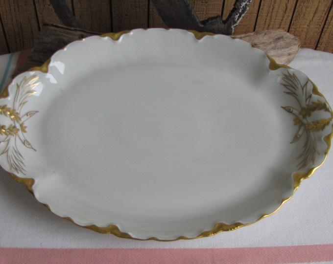 Haviland Ranson dinner platter 1920s
