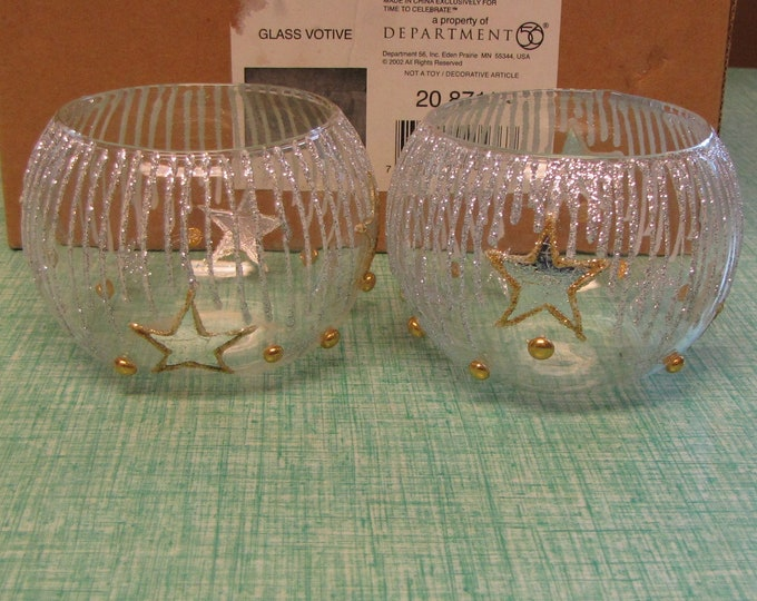 Dept. 56 Votives Vintage Holiday Candle Holders and Décor
