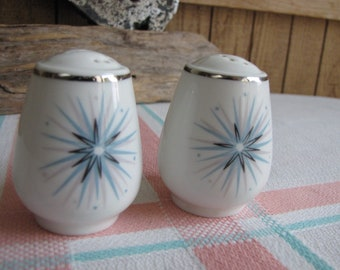 Easterling Celestial salt and pepper shakers 1950 Vintage Dinnerware and Replacements