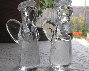 Glass Angels Christmas and Home Décor Modernist Style Christmas Decorations