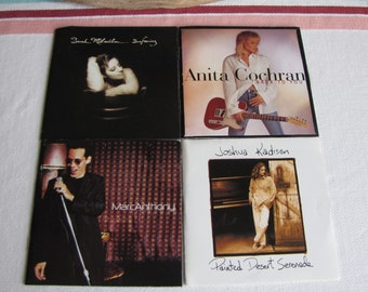 Easy Listening Compact Discs Set of 4 Vintage Music and CDs