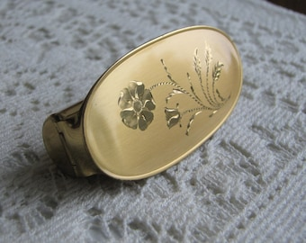 Vintage Lipstick Case With Mirror Kotler & Kopit Gold Toned Vintage Jewelry and Accessories