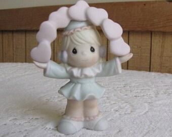 Precious Moments Kate of Sammy's Circus Figurine Trumpet 1994 Symbol Retired