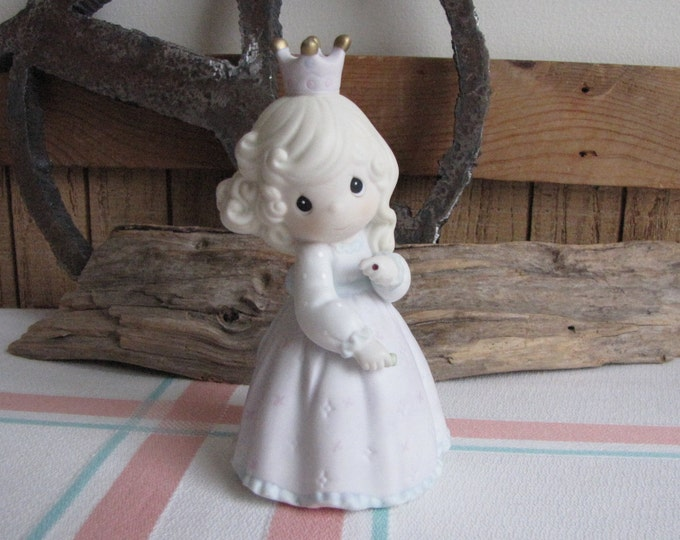 Precious Moments Pretty As a Princess Figurine Sailboat 1995 Symbol