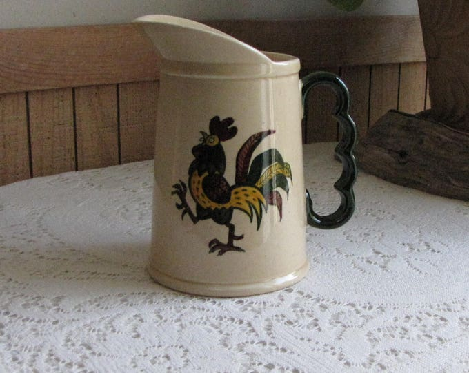 Metlox PoppyTrail California Provincial Pitcher Vintage Dinnerware and Replacements Vernon California Pottery 1956-1982