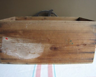 Wood Crate Vintage Boxes and Storage