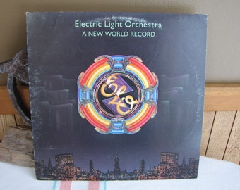 Electric Light Orchestra A New World Record 1976 Vintage Music and Albums