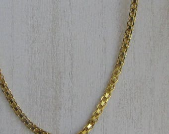 Milor Gold Overlayed 925 Sterling Silver Necklace and Bracelet Set Made in Italy Vintage Women's Jewelry and Accessories