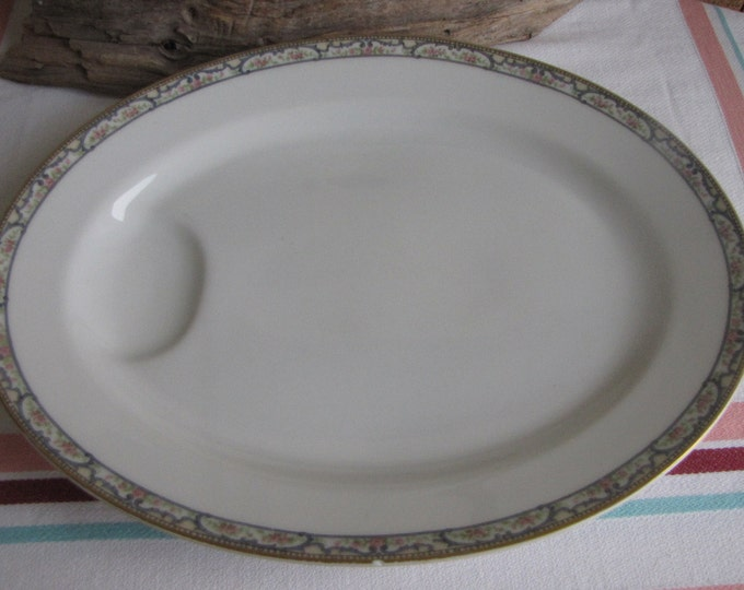 Theodore Haviland Troy dinner platter Schleiger 170 Vintage Dinnerware and Replacements