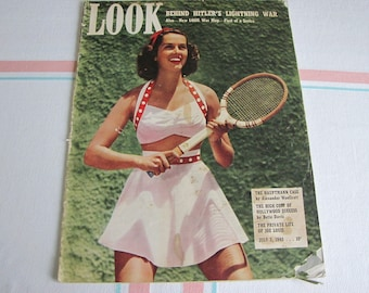 Look Magazine July 2, 1940 Vintage Magazines and Advertising