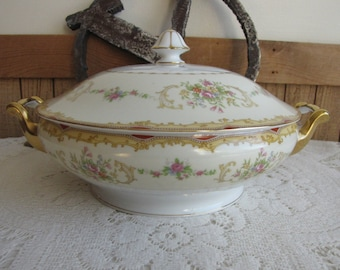 Noritake covered vegetable bowl 1930s Vintage Dinnerware and Replacements