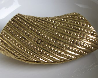 Tubal Pendant Gold Toned Vintage Jewelry and Accessories