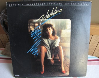 Flashdance Original Soundtrack Album 1983 Vintage Music and Vinyl Records