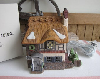 Dicken's Village David Copperfield Betsy Trotwood's Cottage Heritage Collection 1989– 1992 Retired