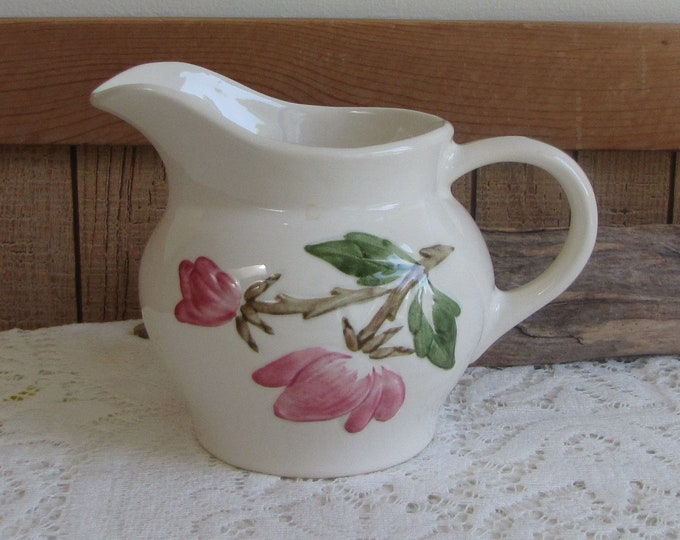 Continental Kilns Pitcher Green Arbor Painting Vintage Dinnerware and Accessories