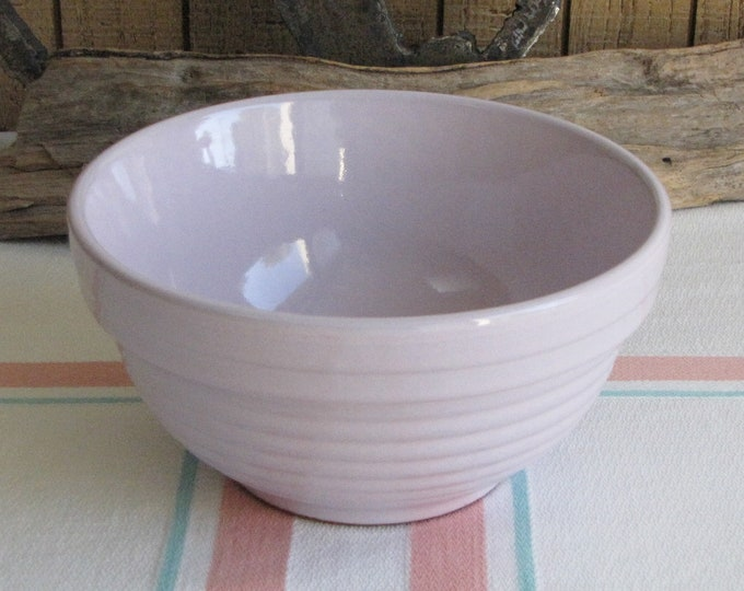 Lavender Mixing Bowl Small Pottery Made in Germany Vintage Kitchens and Replacements