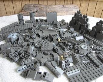 Dark Grey Legos Bricks and Specialty Bricks Vintage Toys and Building Blocks