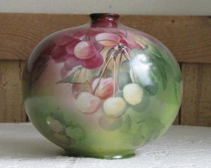 Royal Bayreuth Vase Hand Painted Bavarian Antique Bud Vase Vintage Florist Ware