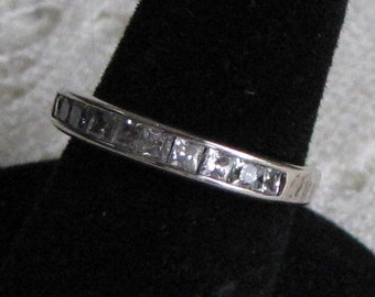 Sterling Silver and Cubic Zirconia Vintage Jewelry and Accessories