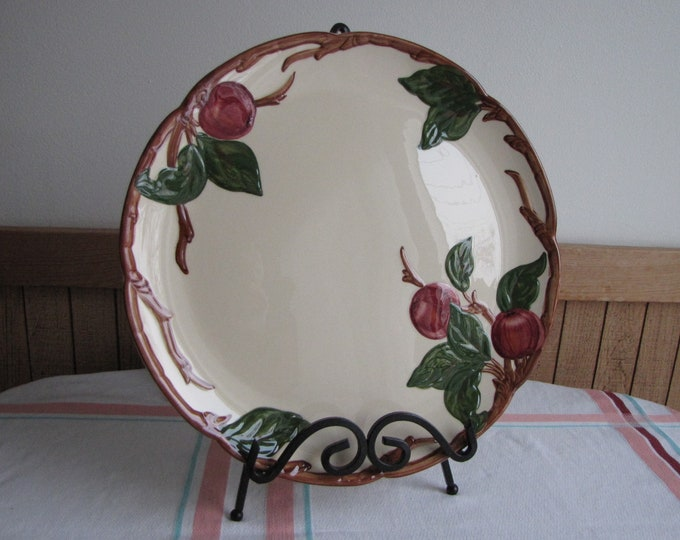 Franciscan Apple chop plate vintage dinnerware and replacements