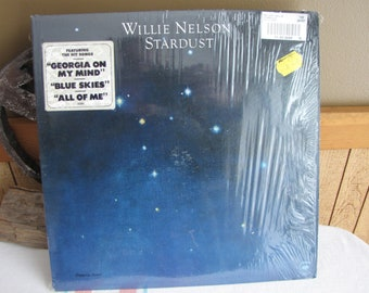 Stardust Willie Nelson 1978 Album Vintage Music and Vinyl Records