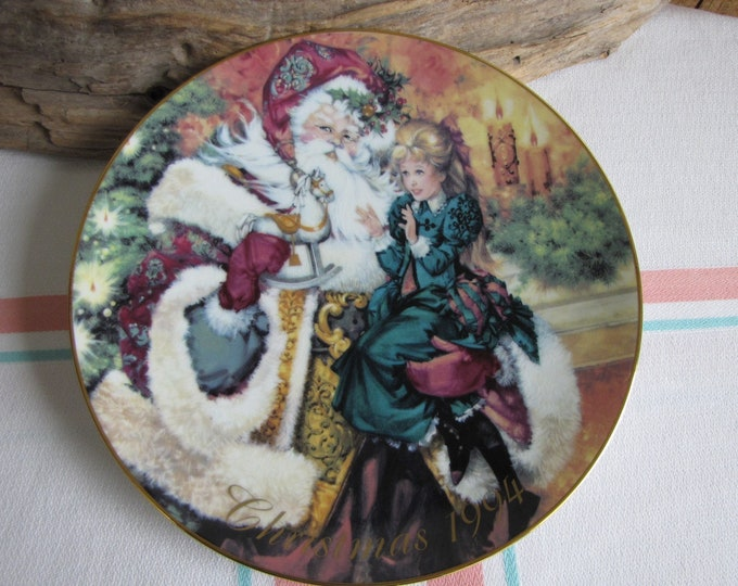 Vintage Avon Christmas Plate 1994 The Wonder of Christmas