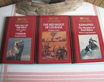 Readers' Digest Best Loved Books for Young Readers Set of Three (3) Classic Fiction and Literature