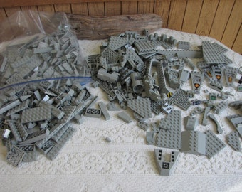 Gray Lego Bricks and Specialty Bricks Vintage Toys and Legos