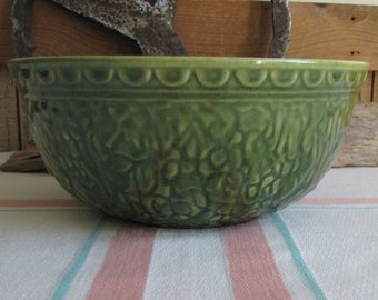 Green Haeger Bowl Vintage Mixing Bowls and Dinnerware Replacements