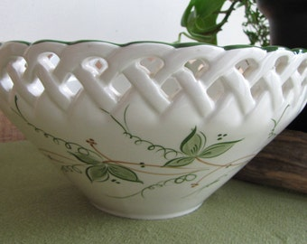 Ceramic bowl Andrea by Sadek Vintage decorative bowls